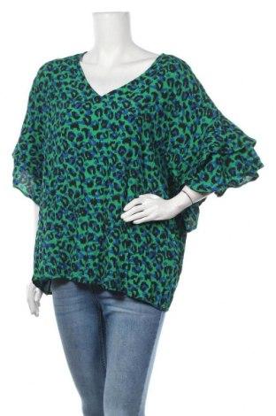 Γυναικεία μπλούζα Rockmans, Μέγεθος XXL, Χρώμα Πολύχρωμο, Βισκόζη, Τιμή 24,68€