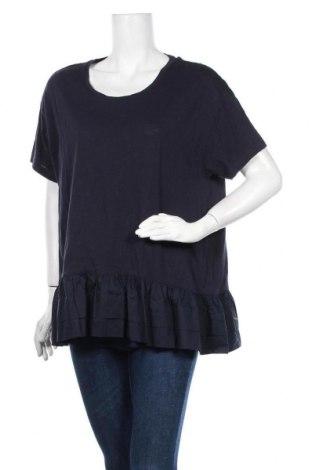 Γυναικεία μπλούζα Seed, Μέγεθος L, Χρώμα Μπλέ, Βαμβάκι, Τιμή 11,69€