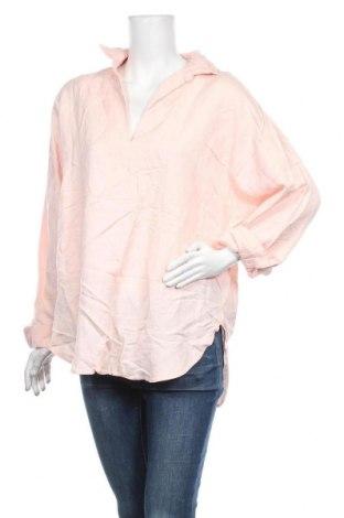 Γυναικεία μπλούζα Seed, Μέγεθος XL, Χρώμα Ρόζ , 55% βισκόζη, 44% λινό, Τιμή 16,24€