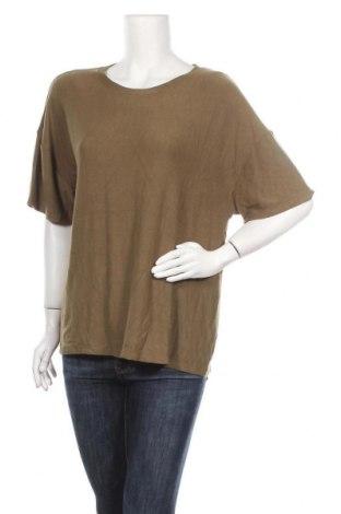 Γυναικεία μπλούζα Seed, Μέγεθος XL, Χρώμα Πράσινο, 62% βισκόζη, 36% πολυεστέρας, 2% ελαστάνη, Τιμή 8,18€