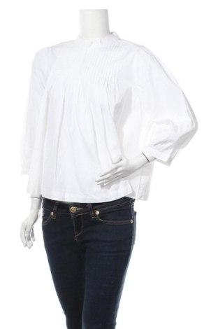 Γυναικεία μπλούζα Selected Femme, Μέγεθος M, Χρώμα Λευκό, Βαμβάκι, Τιμή 8,14€
