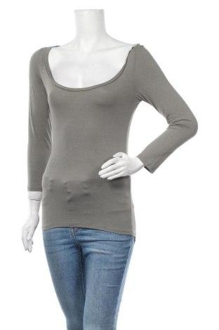 Γυναικεία μπλούζα Siste's, Μέγεθος M, Χρώμα Γκρί, 95% βισκόζη, 5% ελαστάνη, Τιμή 9,35€