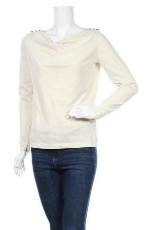 Дамска блуза Skfk, Размер M, Цвят Екрю, 52% памук, 48% полиестер, Цена 19,11лв.