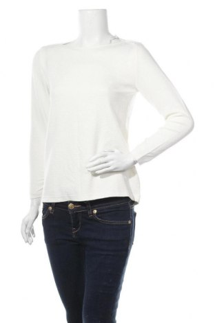Дамска блуза Someday., Размер M, Цвят Бял, 70% вискоза, 27% полиамид, 3% еластан, Цена 15,80лв.