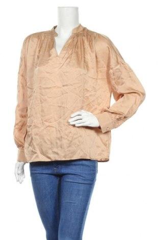 Дамска блуза Someday., Размер S, Цвят Бежов, Вискоза, Цена 10,68лв.