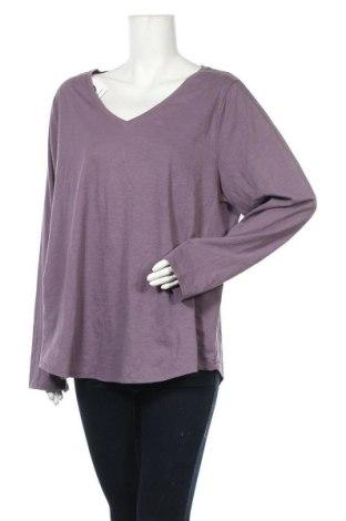 Γυναικεία μπλούζα Sonoma, Μέγεθος XL, Χρώμα Βιολετί, 60% βαμβάκι, 40% πολυεστέρας, Τιμή 7,79€