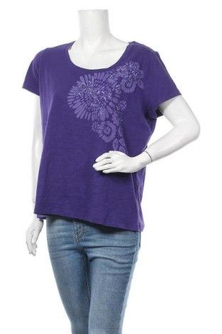 Γυναικεία μπλούζα St. John's Bay, Μέγεθος XL, Χρώμα Βιολετί, Βαμβάκι, Τιμή 5,20€