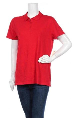 Γυναικεία μπλούζα St. John's Bay, Μέγεθος XL, Χρώμα Κόκκινο, 98% βαμβάκι, 2% ελαστάνη, Τιμή 14,81€