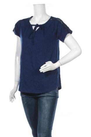 Γυναικεία μπλούζα St. John's Bay, Μέγεθος M, Χρώμα Μπλέ, 60% βαμβάκι, 40% πολυεστέρας, Τιμή 6,62€
