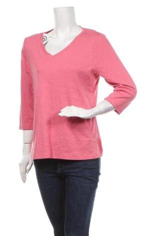 Γυναικεία μπλούζα St. John's Bay, Μέγεθος L, Χρώμα Ρόζ , Βαμβάκι, Τιμή 7,01€