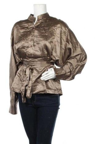 Γυναικεία μπλούζα Stella McCartney, Μέγεθος XL, Χρώμα  Μπέζ, Βαμβάκι, μετάξι, Τιμή 137,69€