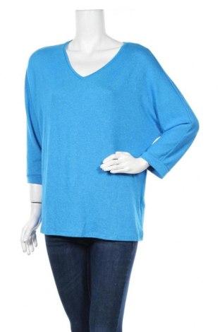 Дамска блуза Street One, Размер M, Цвят Син, 67% вискоза, 30% полиестер, 3% еластан, Цена 51,75лв.
