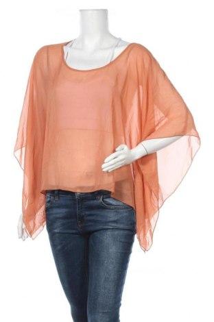 Γυναικεία μπλούζα Supre, Μέγεθος XL, Χρώμα Καφέ, Πολυεστέρας, Τιμή 11,72€