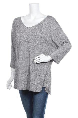 Γυναικεία μπλούζα Sussan, Μέγεθος XXL, Χρώμα Γκρί, 55% βισκόζη, 45% πολυεστέρας, Τιμή 11,69€