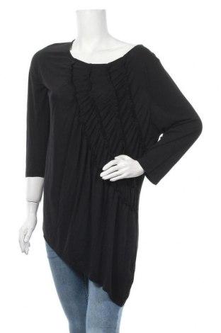 Γυναικεία μπλούζα Suzanne Grae, Μέγεθος XL, Χρώμα Μαύρο, Πολυεστέρας, βισκόζη, Τιμή 6,59€