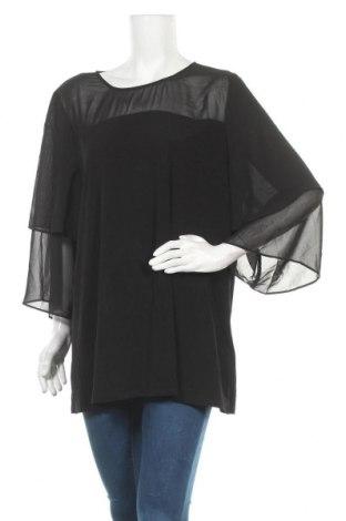 Γυναικεία μπλούζα Suzanne Grae, Μέγεθος XXL, Χρώμα Μαύρο, 95% πολυεστέρας, 5% ελαστάνη, Τιμή 9,74€