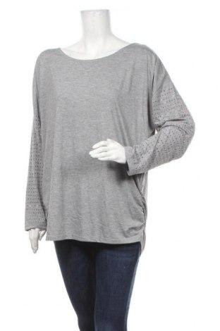 Γυναικεία μπλούζα Suzanne Grae, Μέγεθος XL, Χρώμα Γκρί, Πολυεστέρας, βισκόζη, Τιμή 12,34€