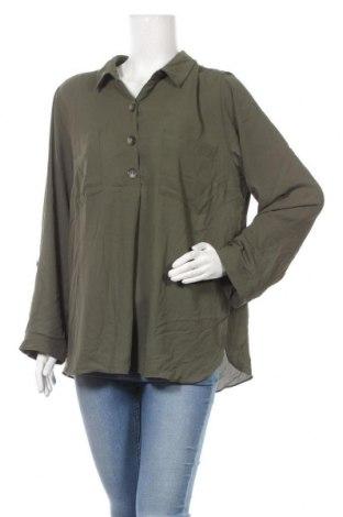 Γυναικεία μπλούζα Suzanne Grae, Μέγεθος XL, Χρώμα Πράσινο, Τιμή 11,69€