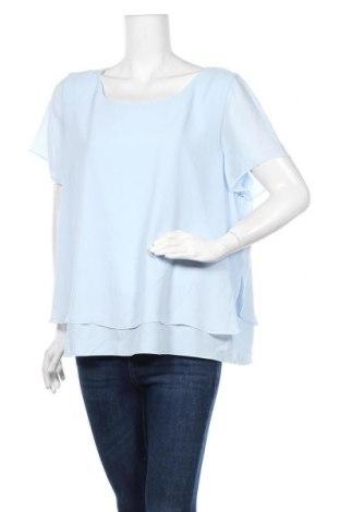 Γυναικεία μπλούζα Suzanne Grae, Μέγεθος XXL, Χρώμα Μπλέ, Πολυεστέρας, Τιμή 11,72€