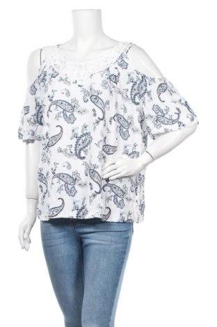 Γυναικεία μπλούζα Suzanne Grae, Μέγεθος XXL, Χρώμα Λευκό, Βισκόζη, Τιμή 9,25€
