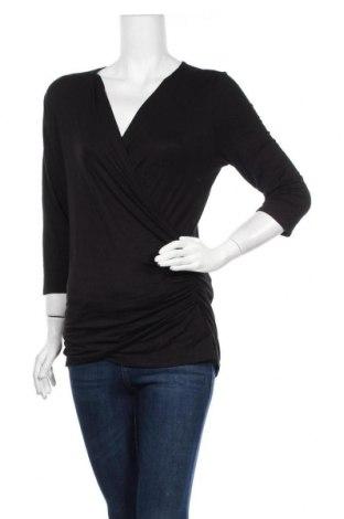 Γυναικεία μπλούζα Suzy Shier, Μέγεθος L, Χρώμα Μαύρο, 95% πολυεστέρας, 5% ελαστάνη, Τιμή 13,51€
