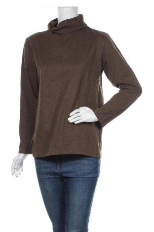 Γυναικεία μπλούζα TCM, Μέγεθος XL, Χρώμα Πράσινο, 70% βαμβάκι, 30% πολυεστέρας, Τιμή 10,49€