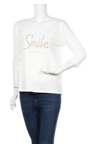 Дамска блуза Takko Fashion, Размер M, Цвят Бял, Памук, Цена 8,51лв.