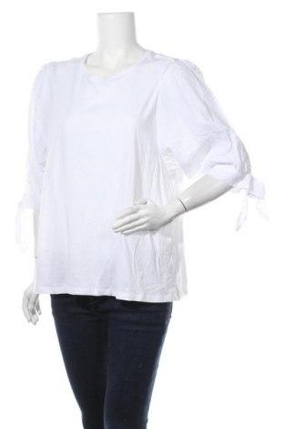 Γυναικεία μπλούζα Target, Μέγεθος XXL, Χρώμα Λευκό, Βαμβάκι, μοντάλ, Τιμή 18,12€
