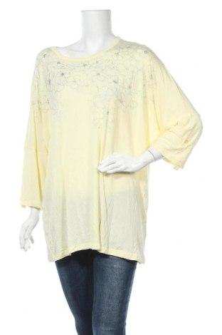 Γυναικεία μπλούζα Target, Μέγεθος XXL, Χρώμα Κίτρινο, Βισκόζη, ελαστάνη, Τιμή 11,69€