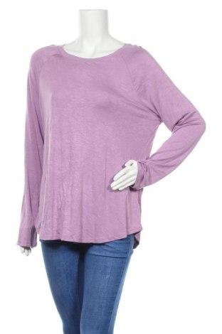 Γυναικεία μπλούζα Time and tru, Μέγεθος XL, Χρώμα Βιολετί, 95% βισκόζη, 5% ελαστάνη, Τιμή 6,43€