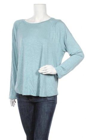 Γυναικεία μπλούζα Time and tru, Μέγεθος XXL, Χρώμα Μπλέ, 95% βισκόζη, 5% ελαστάνη, Τιμή 11,69€