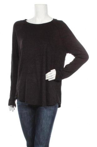 Γυναικεία μπλούζα Time and tru, Μέγεθος XL, Χρώμα Μαύρο, 95% βισκόζη, 5% ελαστάνη, Τιμή 10,49€