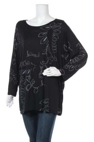 Γυναικεία μπλούζα Tippy, Μέγεθος XXL, Χρώμα Μαύρο, Τιμή 10,39€