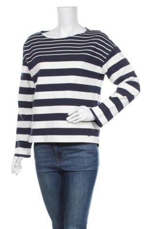 Γυναικεία μπλούζα Tom Tailor, Μέγεθος M, Χρώμα Μπλέ, 87% βαμβάκι, 11% πολυεστέρας, 2% ελαστάνη, Τιμή 20,10€