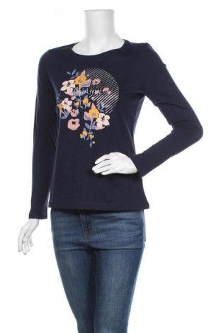 Γυναικεία μπλούζα Tom Tailor, Μέγεθος M, Χρώμα Μπλέ, Βαμβάκι, Τιμή 22,20€