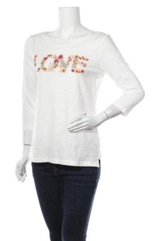 Γυναικεία μπλούζα Tom Tailor, Μέγεθος M, Χρώμα Λευκό, Βαμβάκι, Τιμή 22,81€