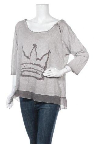 Γυναικεία μπλούζα Tredy, Μέγεθος L, Χρώμα  Μπέζ, 70% βαμβάκι, 30% πολυεστέρας, Τιμή 7,73€