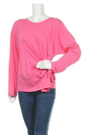 Γυναικεία μπλούζα Trenery, Μέγεθος XL, Χρώμα Ρόζ , 60% βαμβάκι, 40% μοντάλ, Τιμή 8,77€