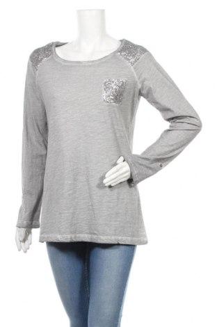 Дамска блуза Vintage, Размер M, Цвят Сив, Памук, Цена 6,62лв.