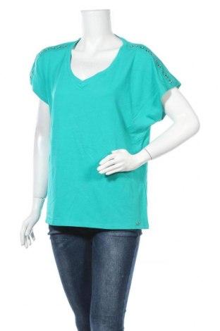 Γυναικεία μπλούζα W. Lane, Μέγεθος L, Χρώμα Πράσινο, Βαμβάκι, μοντάλ, ελαστάνη, Τιμή 8,18€