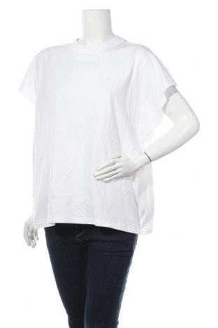 Γυναικεία μπλούζα Weekday, Μέγεθος L, Χρώμα Λευκό, Βαμβάκι, Τιμή 13,92€