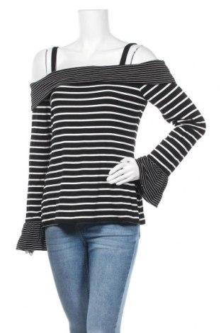 Γυναικεία μπλούζα White House / Black Market, Μέγεθος L, Χρώμα Μαύρο, 95% βισκόζη, 5% ελαστάνη, Τιμή 8,64€