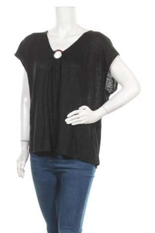 Γυναικεία μπλούζα Witchery, Μέγεθος XL, Χρώμα Μαύρο, 100% λινό, Τιμή 23,45€
