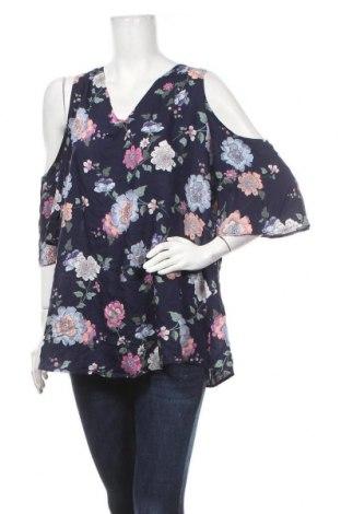 Γυναικεία μπλούζα Yessica, Μέγεθος XXL, Χρώμα Μπλέ, Τιμή 13,64€