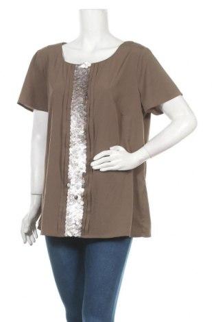 Γυναικεία μπλούζα Your Sixth Sense, Μέγεθος XL, Χρώμα Καφέ, Πολυεστέρας, Τιμή 6,23€