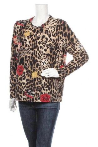 Дамска блуза Zaida, Размер M, Цвят Многоцветен, 79% памук, 19% полиамид, 2% еластан, Цена 3,00лв.