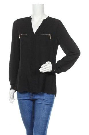 Дамска блуза Zebra, Размер M, Цвят Черен, Полиестер, Цена 16,96лв.
