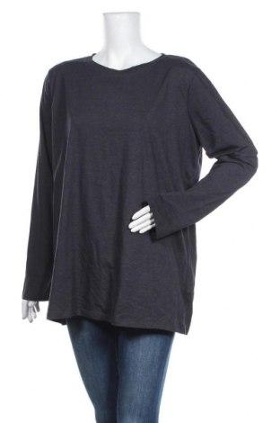 Γυναικεία μπλούζα Zenana Outfitters, Μέγεθος 3XL, Χρώμα Μπλέ, 60% βαμβάκι, 35% πολυεστέρας, 5% ελαστάνη, Τιμή 5,84€