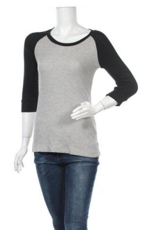 Γυναικεία μπλούζα Zenana Outfitters, Μέγεθος L, Χρώμα Γκρί, 60% βαμβάκι, 35% πολυεστέρας, 5% ελαστάνη, Τιμή 6,23€