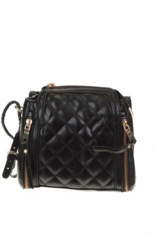 Дамска чанта, Цвят Черен, Еко кожа, Цена 33,08лв.